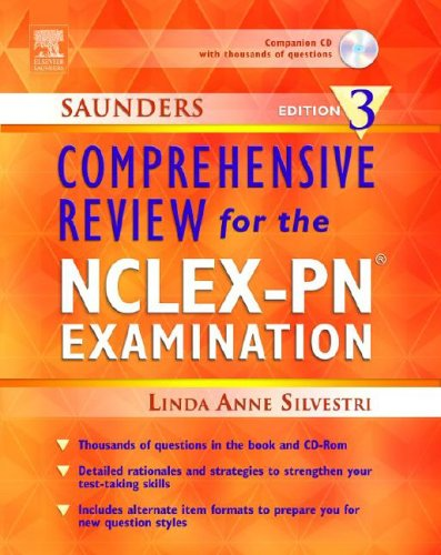 Saunders Comprehensive Review for the NCLEX-PN Examination, Edition 3, Linda Anne Silvestri
