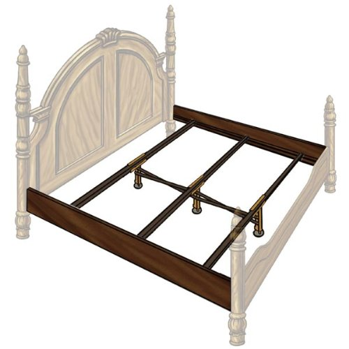 Bed Side Rail: Wood Bed Rail and Center Support Savings Package
