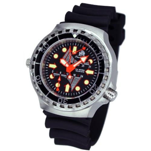 [トーチマイスター1937]Tauchmeister1937 腕時計2戦ドイツ戦艦軍用重厚1000M防水GMTダイビング T0247 (並行輸入品)