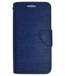 DESIGNERZ HUB FLIP COVER FOR LENOVO P1-BLUE