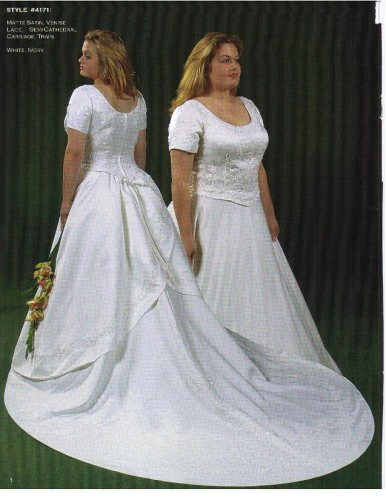 Aurora D'Paradiso Ivory Plus Size 16 Formal Bridal Gown Wedding Dress