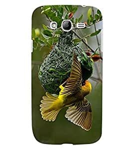 ColourCraft Busy Bird Design Back Case Cover for SAMSUNG GALAXY GRAND I9082