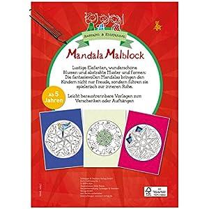 Mandala Malblock: Ausmalen & Entspannen