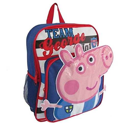 Children Peppa Pig Backpacks Kids Cartoon School Bag Bookbag - 1