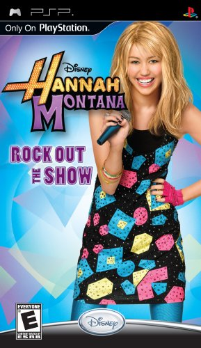 Hannah Montana: Rock Out the Show - Sony PSP - 1