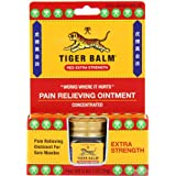 Tiger Balm Pain Relieving Ointment, Extra Strength, 0.63 Ounces (Pack of 3) ~ Tiger Balm