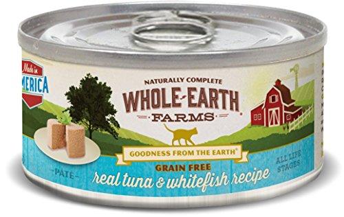 Whole Earth Farms Grain Free Recipe Real Tuna & Whitefish Recipe (Paté)