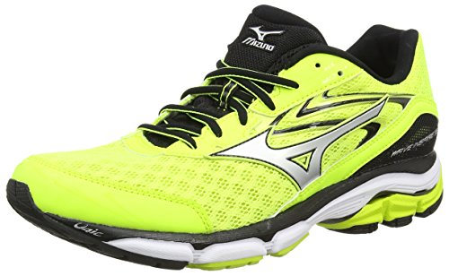 mizuno-mens-wave-inspire-12-training-running-shoes-yellow-safety-yellow-silver-black-9-uk-43-eu