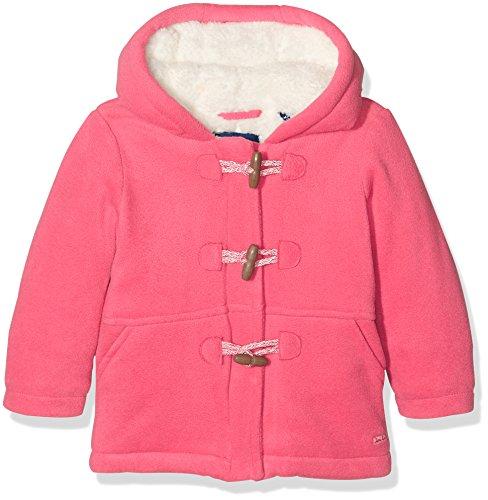 TOM TAILOR Kids Fleece Duffle Coat Mantel, Giubbotto Bimbo, Rosso (Berry Red), 6 Meses (Taglia Produttore: 68)
