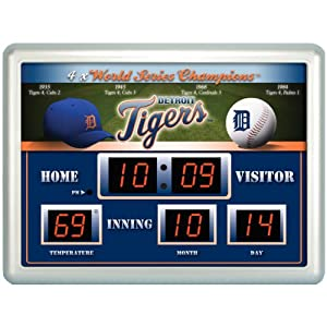 MLB Detroit Tigers Scoreboard by Team Sports America