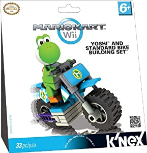 K'NEX Nintendo Mario Kart Wii Yoshi Bike Building Set
