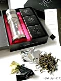 Eight Cranes PS-PC-3T Perfect Steeper Portable Loose Leaf Tea Brewer and 8-Ounce Polycarbonate Tea Tumbler Gift Set Includes 3 Teas