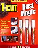 T-Cut Rust Magic Triple Pack Pen Rust Remover Treatment Prevention