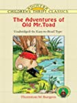 The Adventures of Old Mr. Toad (Dover...