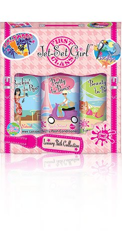 Jet Set Girl Luxury Bath Collection