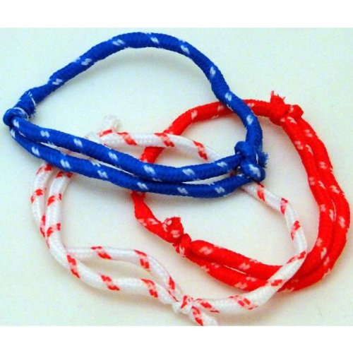 Patriotic Rope Friendship Bracelet Case Pack 144 - 531327