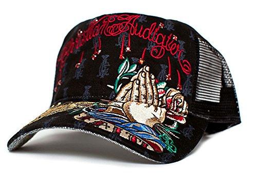 Christian Audigier Faith One-size Unisex-adult Truckers Cap - Import It All 8d0e17947cd