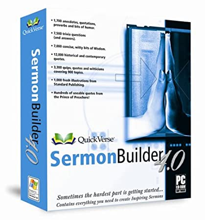 Quickverse Sermon Builder 4.0