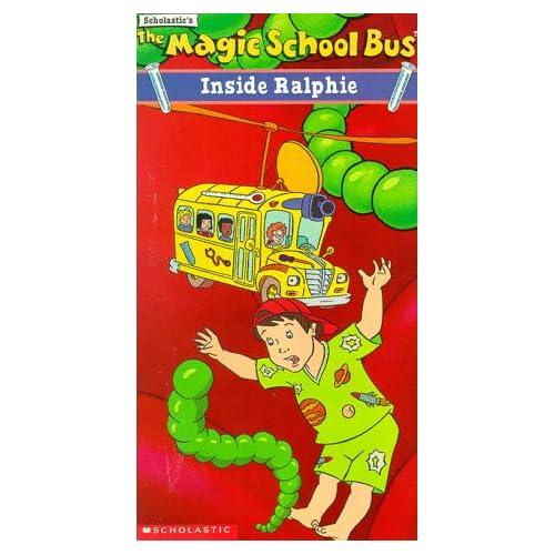 Magic school bus inside ralphie vhs lily tomlin