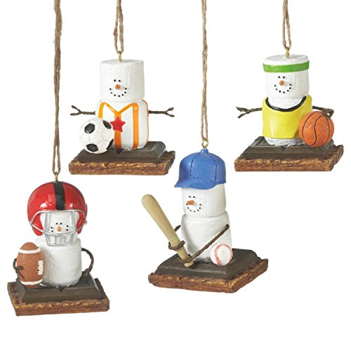 S'mores Sports Set of Ornaments