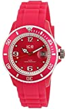ICE-Watch - Montre Mixte - Quartz Analogique - Ice-Sunshine - Neon Pink - Unisex - Cadran Rose - Bracelet Silicone Rose - SUN.NPK.U.S.13