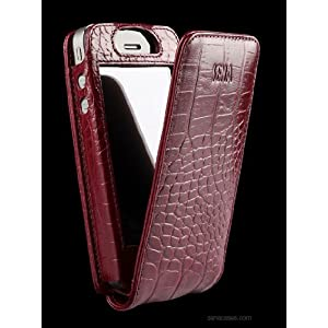 Sena Magnet Flipper Leather Case for iPhone 4 / 4S