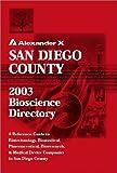 San Diego County 2003 Bioscience Directory