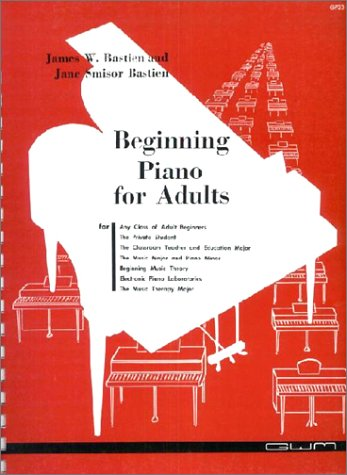 Beginning Piano for Adults (GP 23)