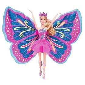 Barbie Fairy-Tastic Pink/Purple Princess Doll