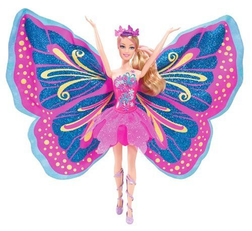 Barbie+Fairy+-+Tastic+Pink%2FPurple+Princess+Doll