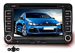 See Pumpkin 7 Inch 2 Din HD Touch Screen Car DVD Player GPS Navigation Stereo support GPS/SD/USB/3G/DVR/AV-IN/Bluetooth with Free Backup Camera as Gift Details