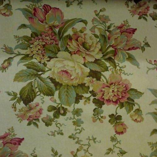 "Amazon.com: 54"" Wide Fabric ""Bridgewater Floral, Color"