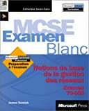 echange, troc Microsoft Corporation - Examen blanc mise en réseau notions fondamentales examen 70-058