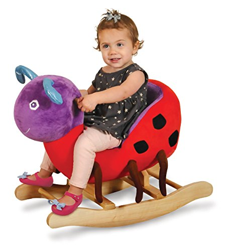 World of Eric Carle, Ladybug Rocker by Kids Preferred