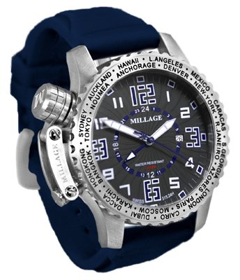 Millage Moscow Collection - BLK-BLU-BLU-SL