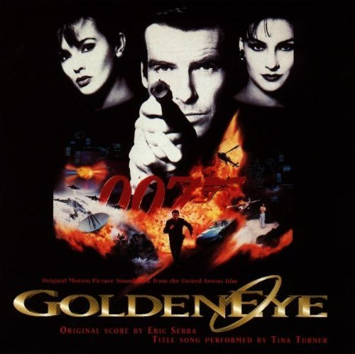 Original album cover of Goldeneye: Original Motion Picture Soundtrack From The United Artsits Film by Tina Turner, Eric Serra (1995-11-14) by James Bond - OST