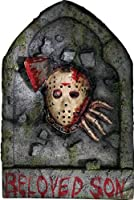 Friday The 13th Jason Voorhees Tombstone Decoration by Rubies