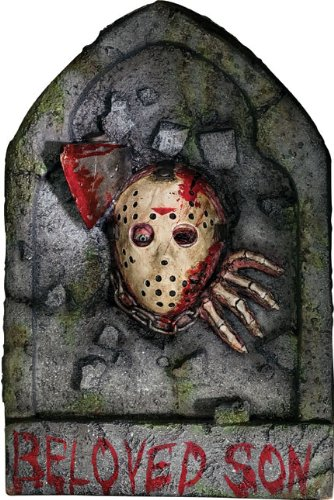 Friday The 13th Jason Voorhees Tombstone Decoration