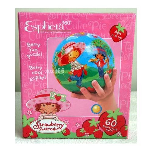 Cheap Fun Esphera 360 Degree Spherical 3-D Strawberry Shortcake Puzzle (B000ZFPMF8)