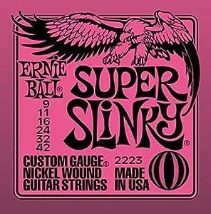 Super Slinky Nickel Wound .009 - .042 Pink Pack