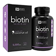 Biotin (High Potency) 5000mcg Per Veg…