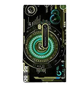 printtech Technical Nerd Pattern Back Case Cover for Nokia Lumia 920::Microsoft Lumia 920
