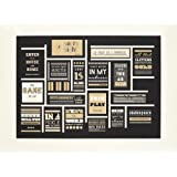 Shakespeare Quotes and Misquotes - Signed Print by Jonathan Barnbrook
