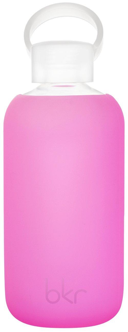 bkr bottle : bubbly glass water bottle + soft silicone sleeve