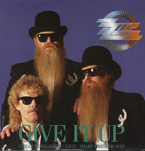 Original album cover of Give It Up by ZZ Top