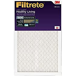 Filtrete Healthy Living Ultra Allergen Reduction Filter, MPR 1500, 16 x 25 x 1-Inches, 2-Pack