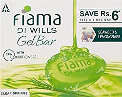 Fiama Di Wills Clear Springs Bathing Bar, 125g (Pack of 3)