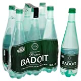 Badoit Naturally Sparkling Natural Mineral Water 12 x 1L