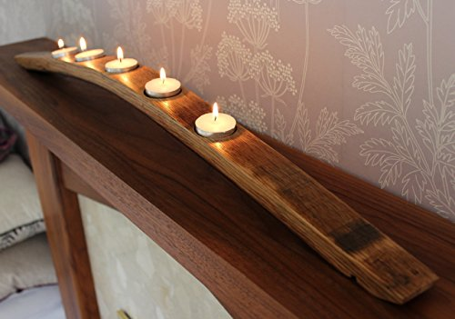 oak-scotch-whisky-barrel-stave-5-tealight-holder