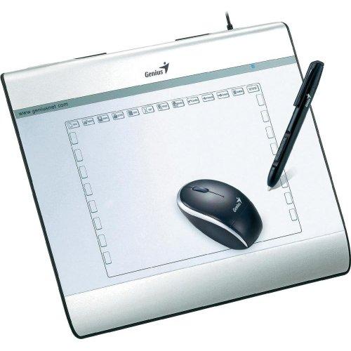 Genius MousePen i608 - Tableta gr�fica con l�piz digital (pantalla de 20,3 cm/8